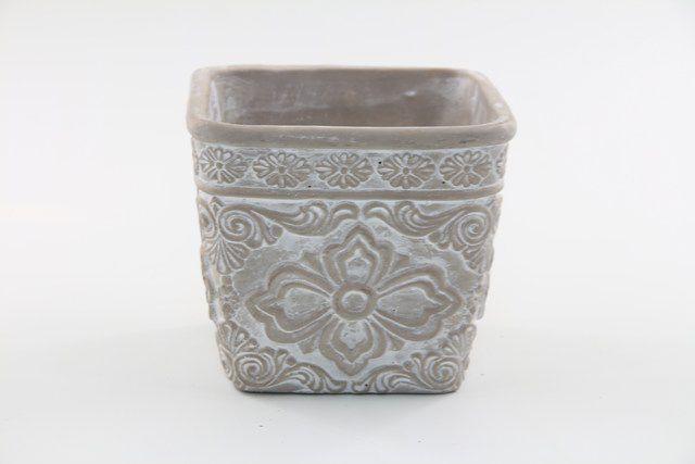 Vaso Cachepot de Cimento GX37035-2