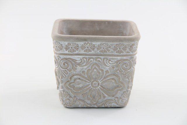 Vaso Cachepot de Cimento GX37035-2 A1312