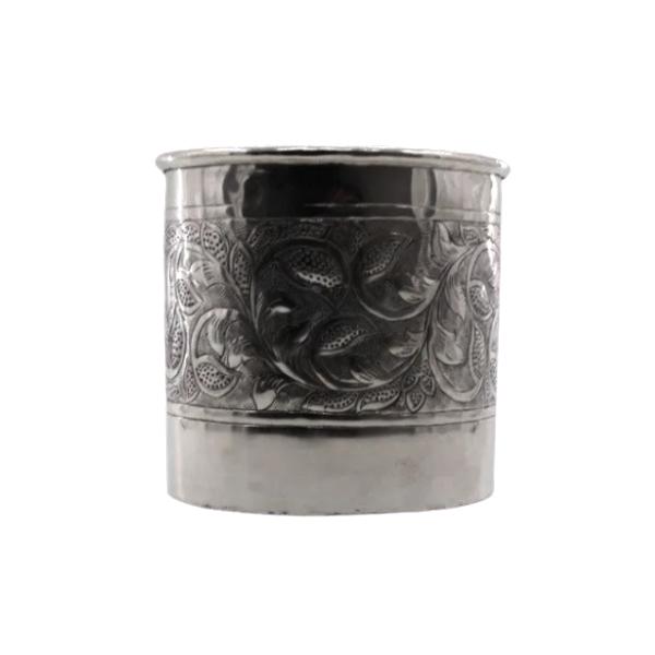 Vaso Cachepot em Alumínio