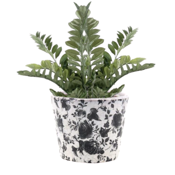 Vaso Decorativo em Cerâmica 12 x 14 - A1179