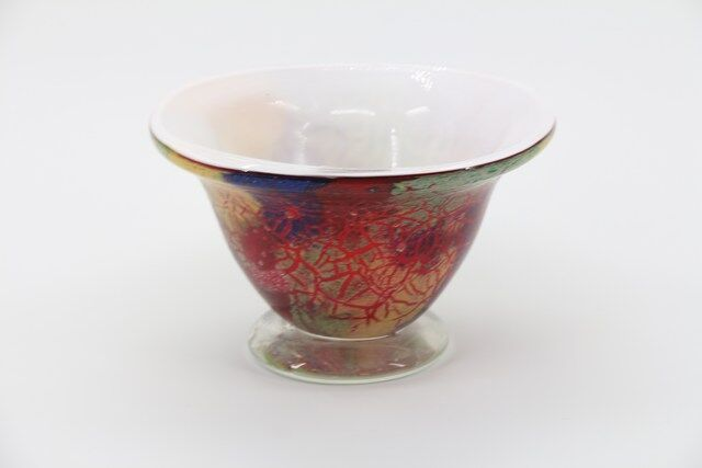 Vaso Decorativo em Vidro Design Moderno 12 x 20 - N1541