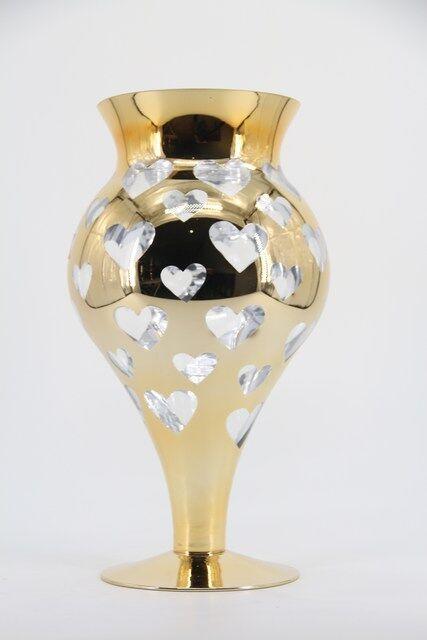 Vaso Decorativo em Vidro Design Moderno 40 x 17 - G1322
