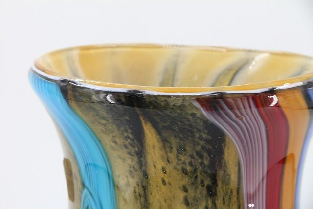 Vaso Decorativo em Vidro Murano Design Moderno - N1531