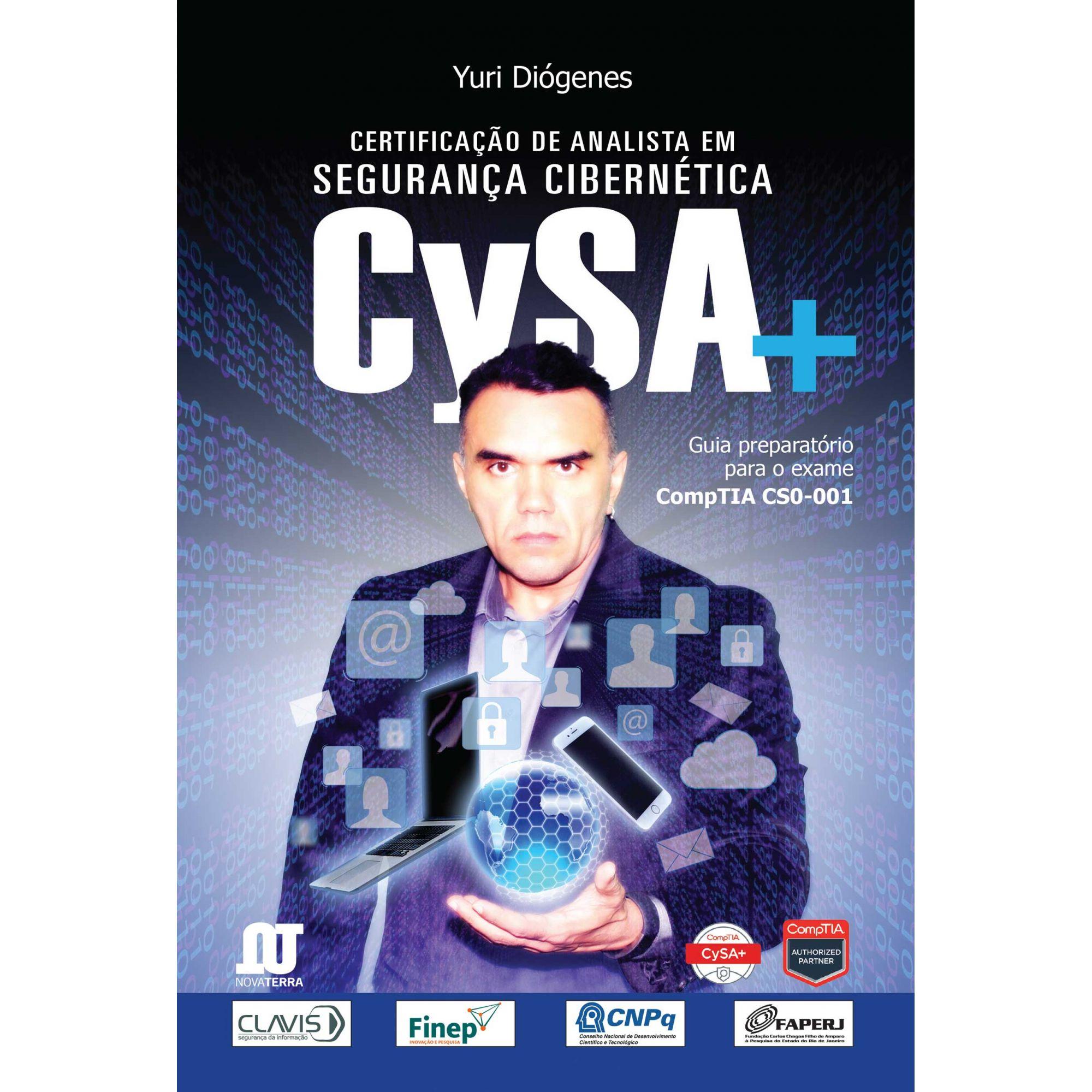 Certificação CSA+ (Preparatório para o Exame COMPTIA CS0-001)