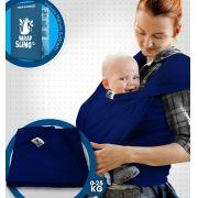 Canguru Wrap Sling Bebê Carregador azul marinho