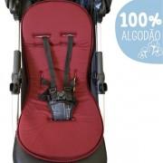 Capa Para Carrinho De Bebê Protetor Universal - Vinho