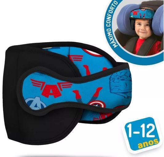 Apoio Protetor De Cabeça Bebê Para Cadeirinha Carro Capitão América