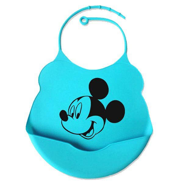 Babador de silicone alimentação do bebê disney - Mickey