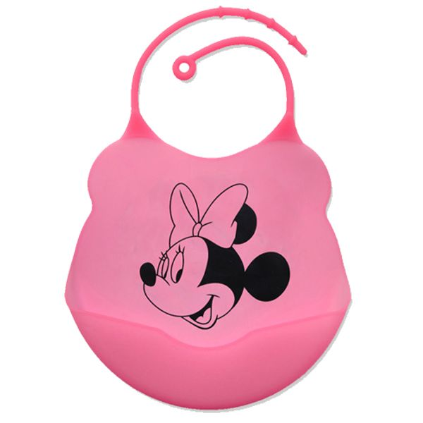 Babador de silicone alimentação do bebê disney - Minnie