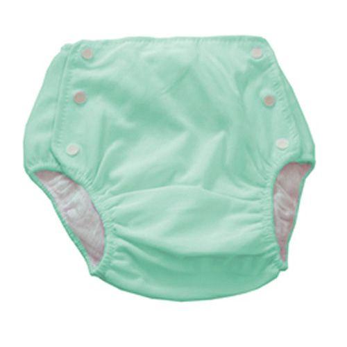 Bebê Fralda Enxuta Reutilizável Calça Plástica Ecológica - Verde