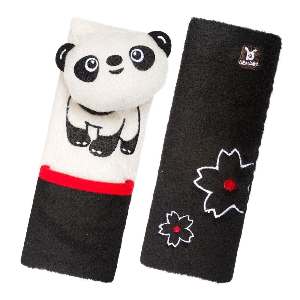 Benbat bebê cinto ombro almofada crianças protetor cinto de segurança - Panda