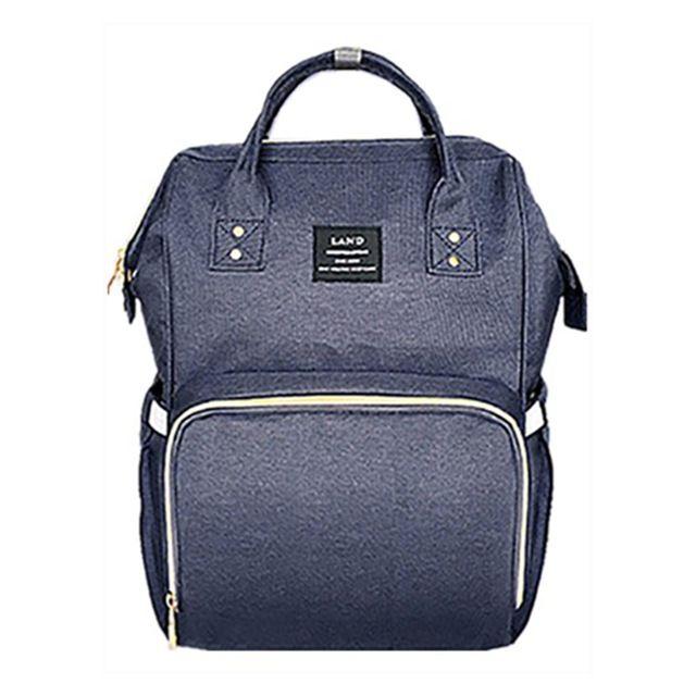 Bolsa mochila mala maternidade - Azul Marinho