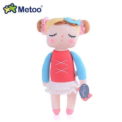 Boneca Metoo Doll Angela Pelúcia De Dormir Bebê Infantil - Bailarina