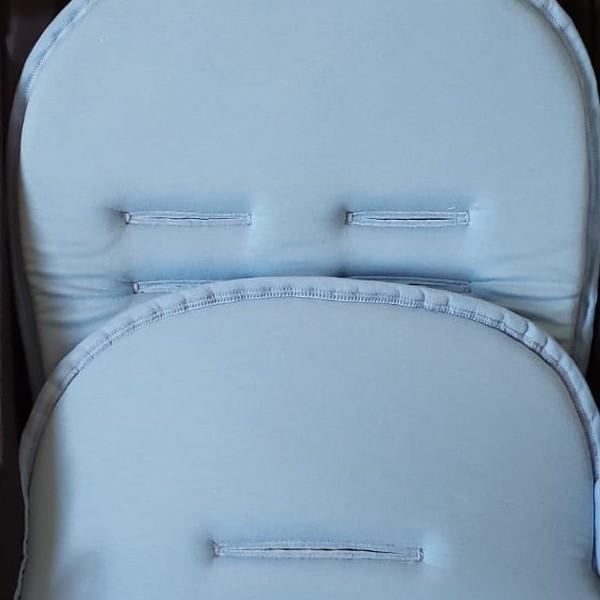 Capa Para Carrinho De Bebê Protetor Universal - Azul bebê