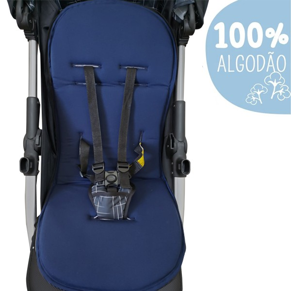 Capa Para Carrinho De Bebê Protetor Universal - Marinho