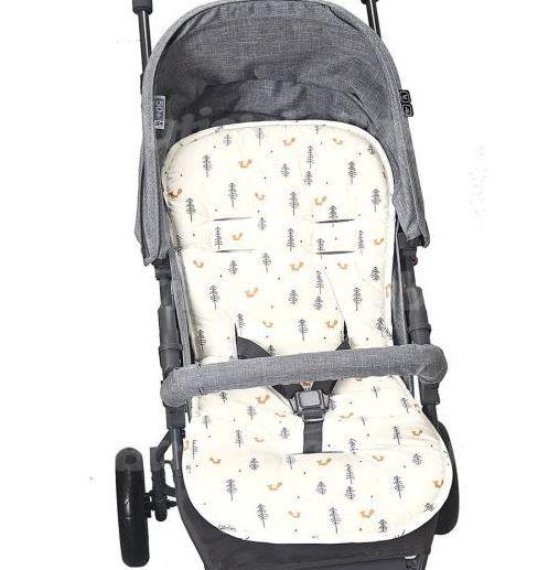 Capa Para Carrinho De Bebê Protetor Universal Raposa