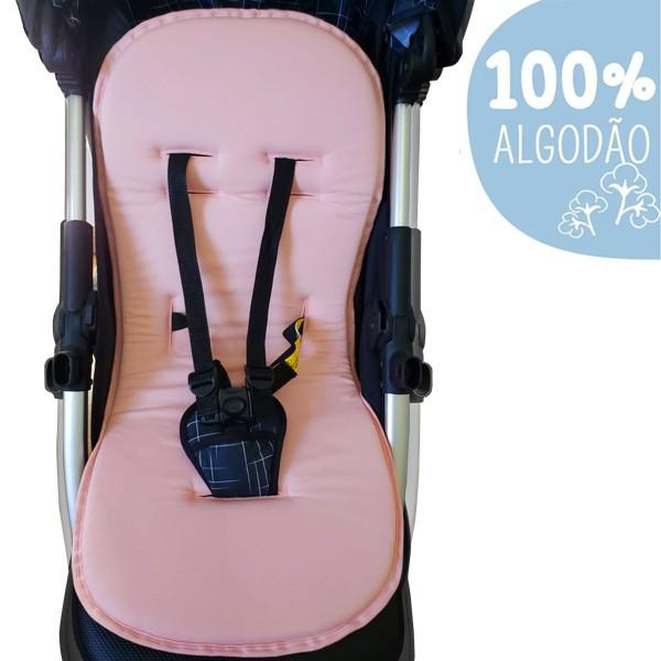 Capa Para Carrinho De Bebê Protetor Universal Rosa bebê