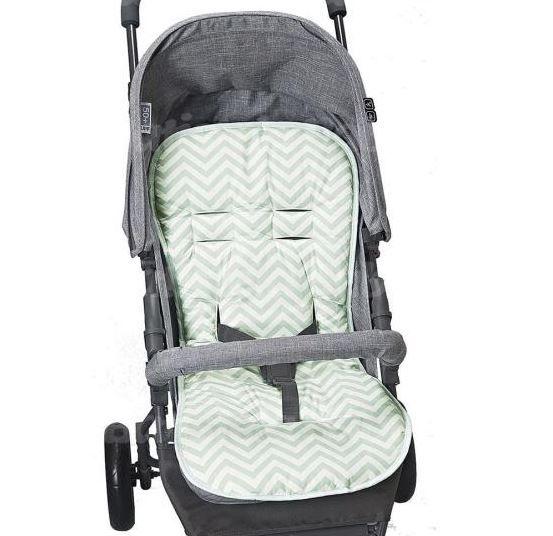 Capa Para Carrinho De Bebê Protetor Universal verde malva