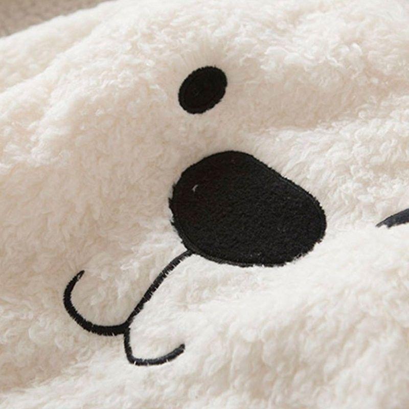 Casaquinho urso polar super quentinho