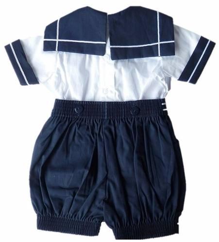 Conjunto Bebê Marinheiro Infantil Fantasia