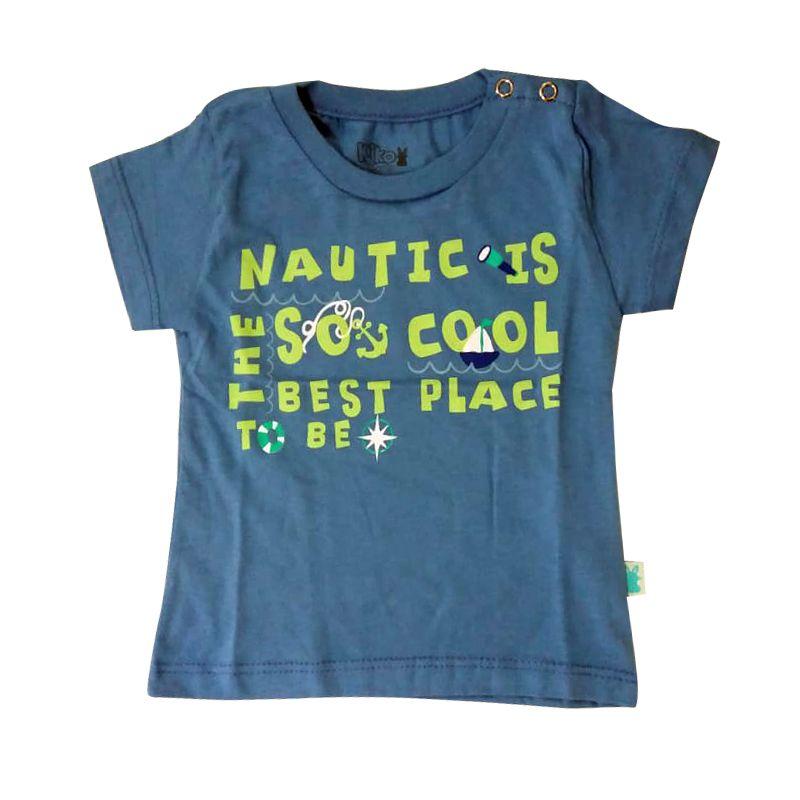 Conjunto Curto Bebê Menino camisa e bermuda moletinho