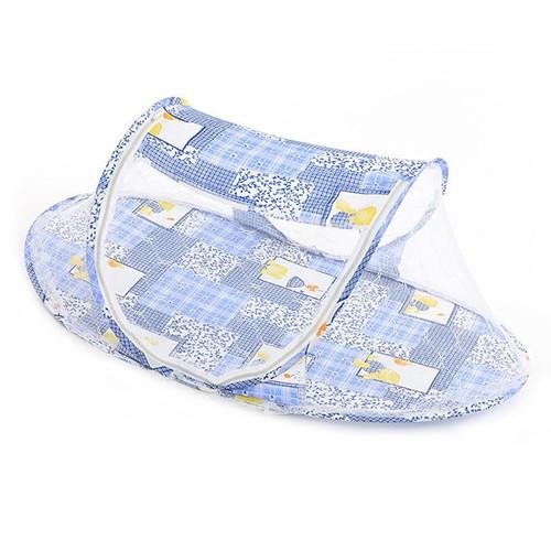 Mosquiteiro berço Portátil para bebê - Azul