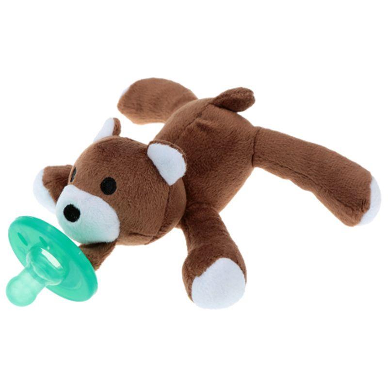 Naninha pelúcia com chupeta - Urso