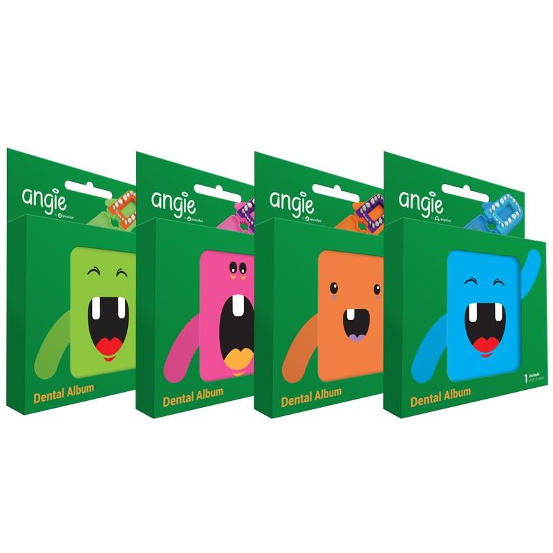Porta Dentes Infantil Álbum Dental Caixinha dente de leite