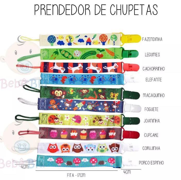 Prendedor De Chupeta Para Soothie Avent Mam Universal - Modelo Macaco