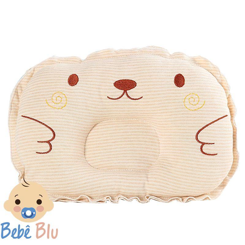 Travesseiro Anatômico Apoio Cabeça Conforto Urso