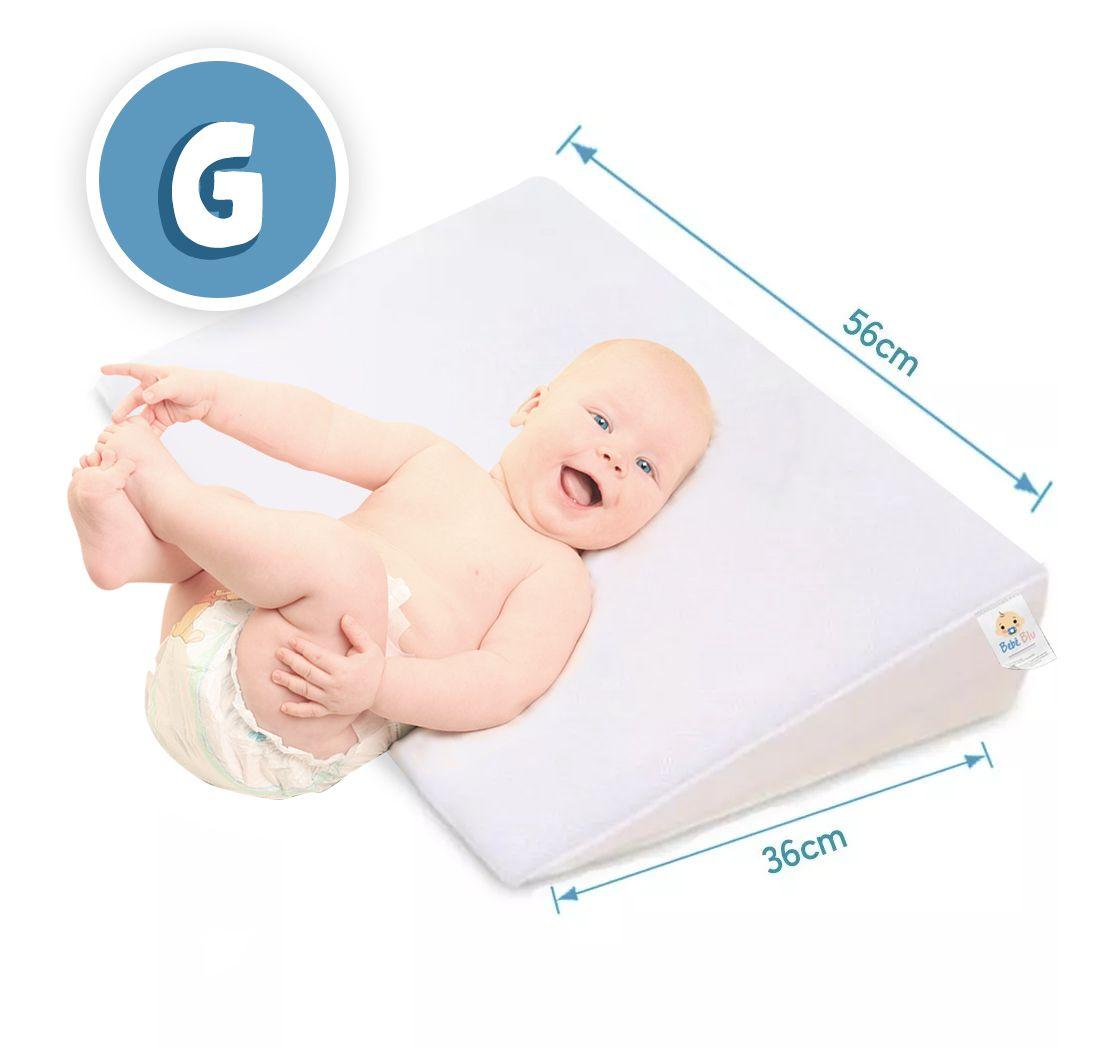 Travesseiro Anti Refluxo P/ Berço ou cama