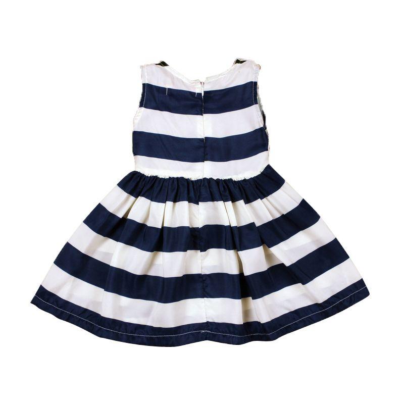 Vestido Infantil Listrado marinheirinha