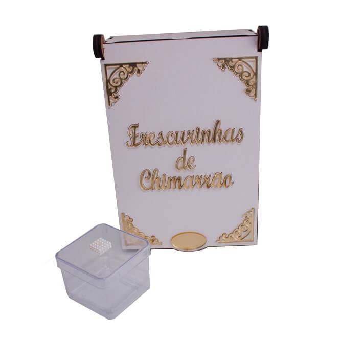 Caixa para Enfeites de Chimarrão - Dourado