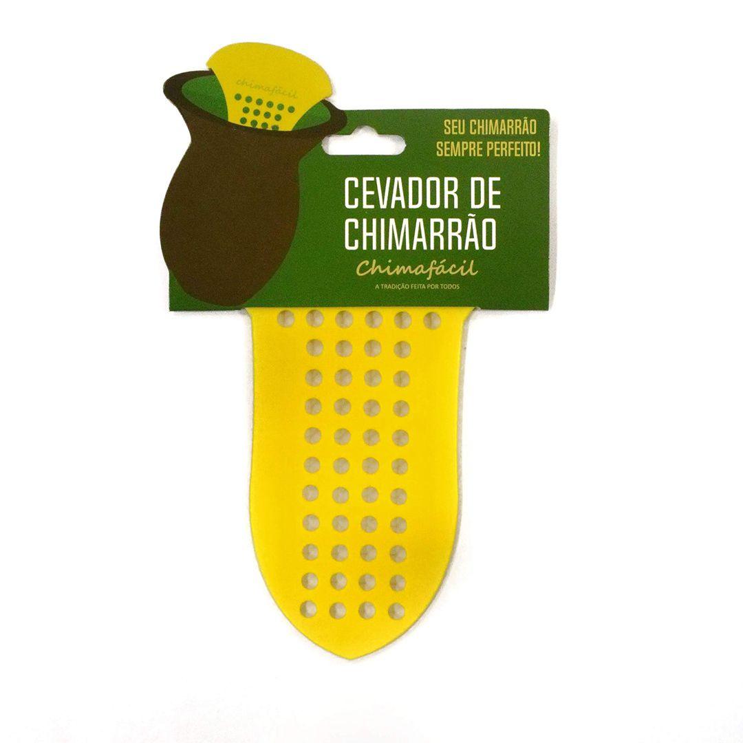 Cevador de chimarrão Chimafácil Amarelo | Modelo Largo