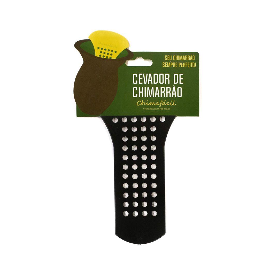 Cevador de chimarrão Chimafácil Preto | Modelo Fino