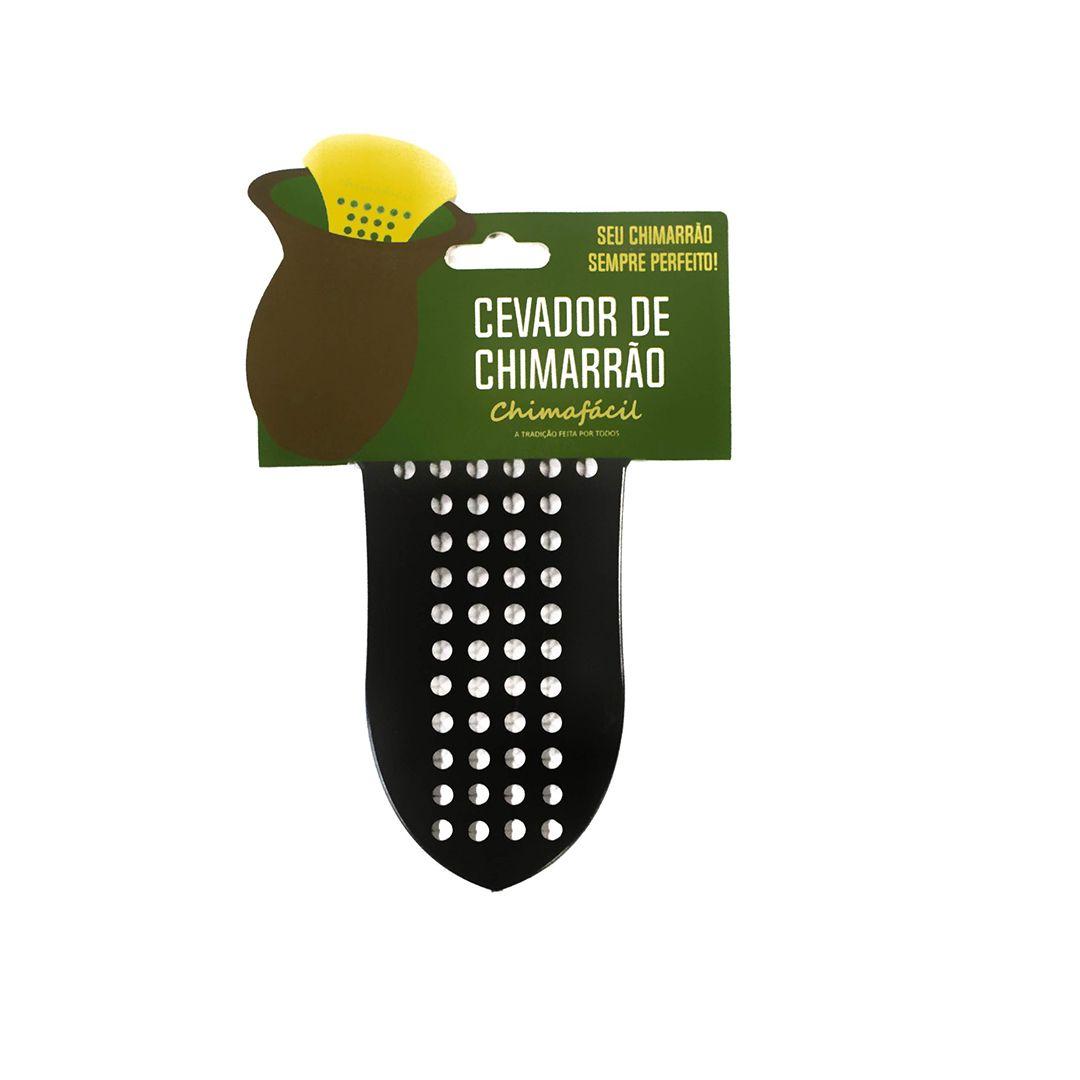 Cevador de chimarrão Chimafácil Preto | Modelo Largo