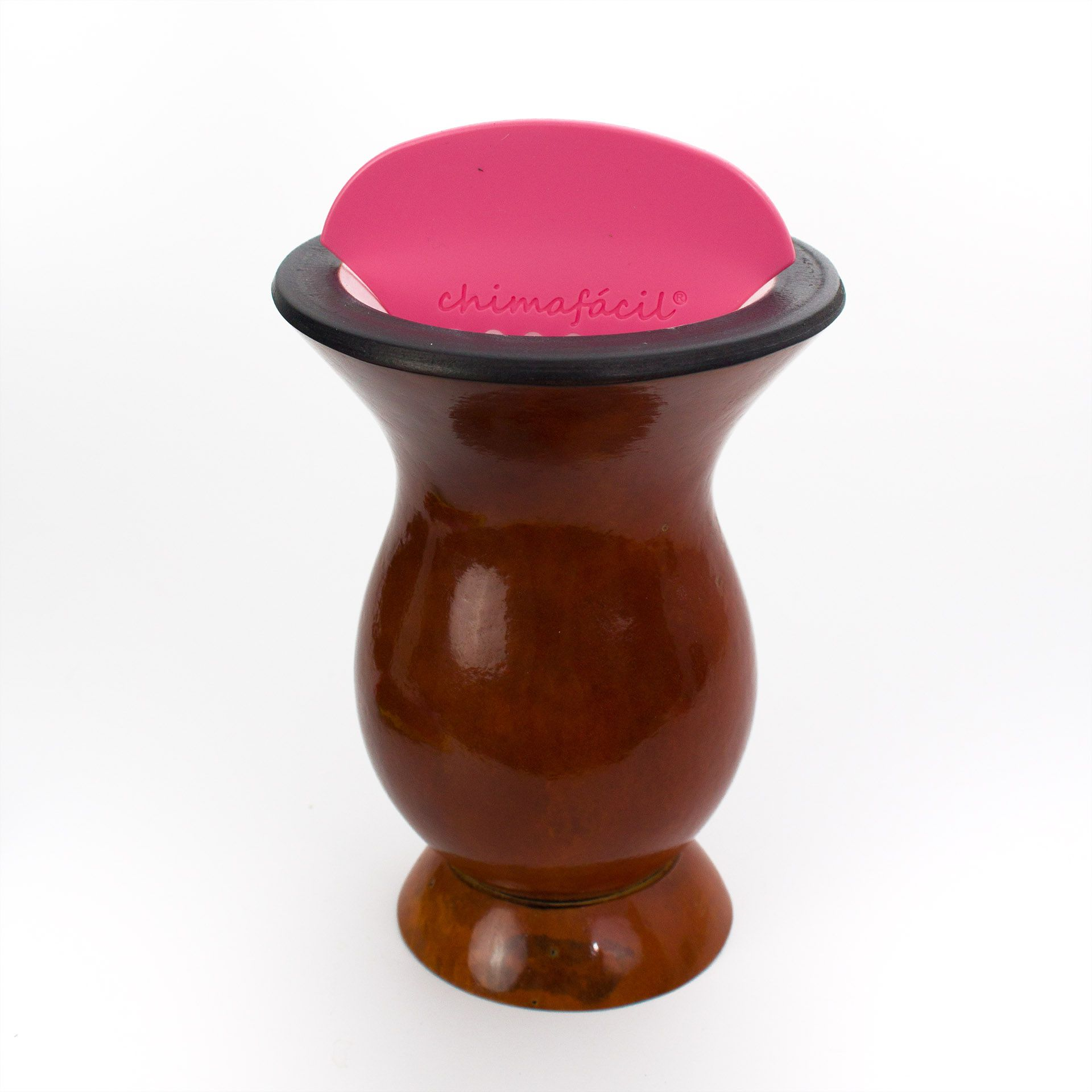 Cevador de chimarrão Chimafácil Rosa | Modelo Fino