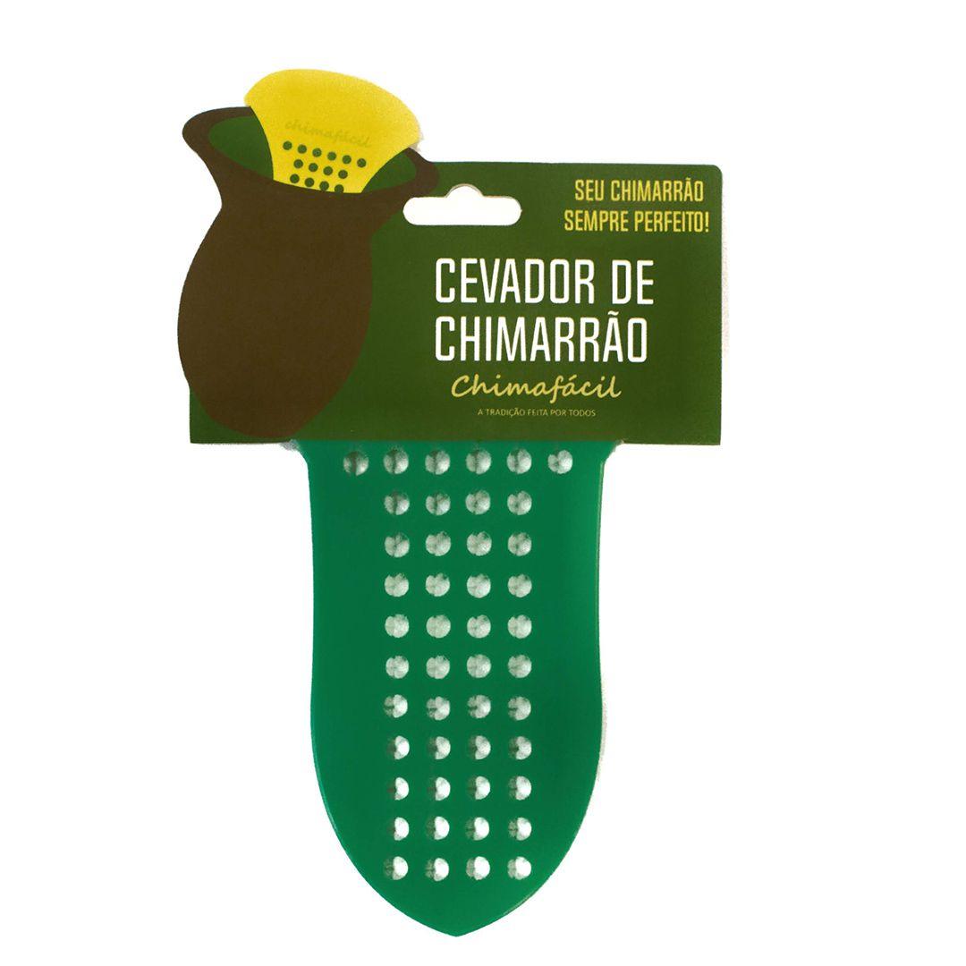 Cevador de chimarrão Chimafácil Verde | Modelo Largo