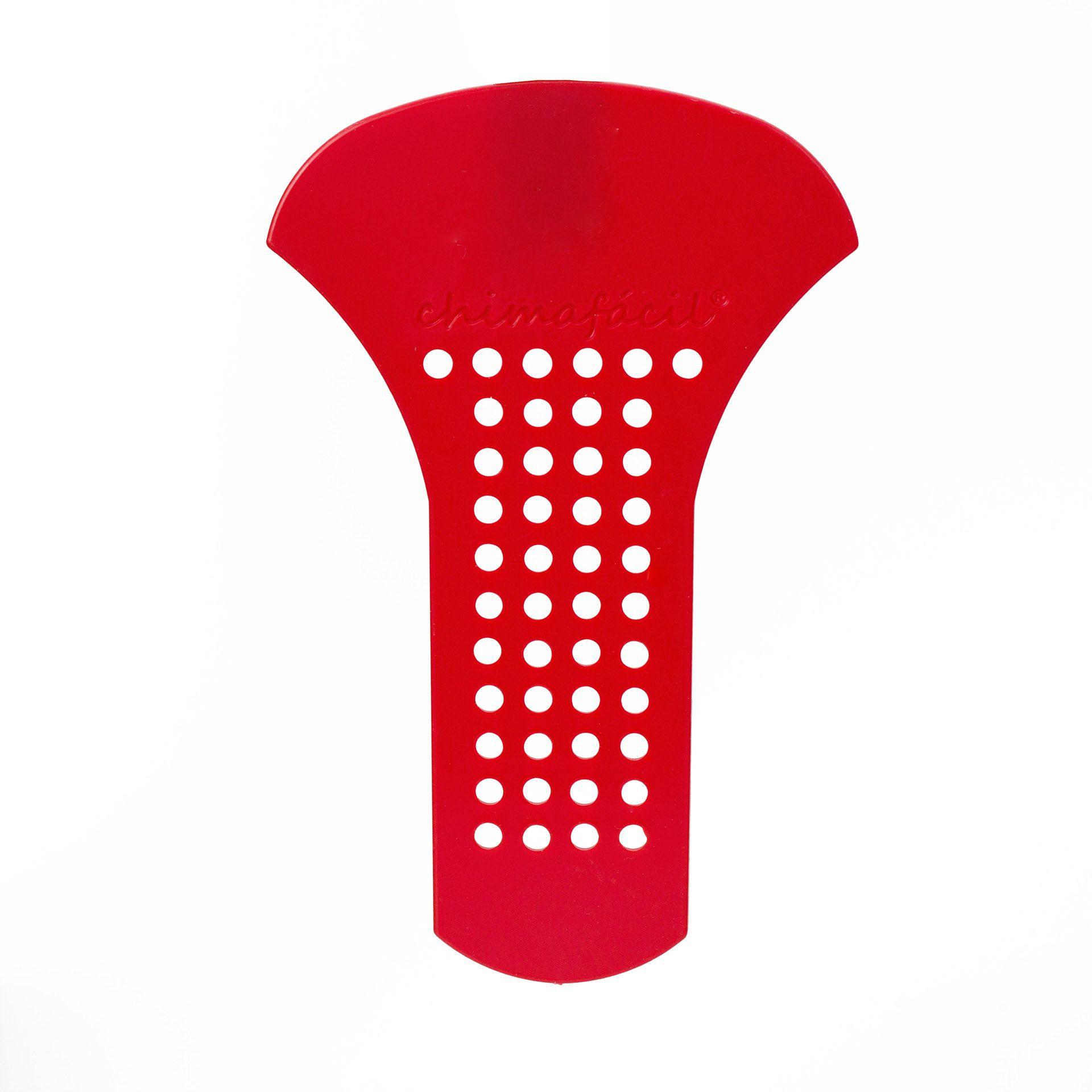 Cevador de chimarrão Chimafácil Vermelho | Modelo Fino