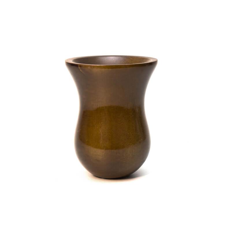 Cuia de madeira Verde - Bago