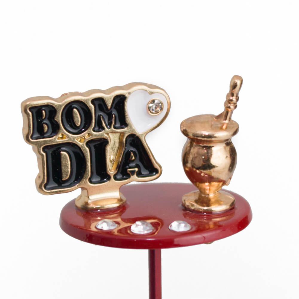 Enfeite de Chimarrão | Bom dia e Cuia