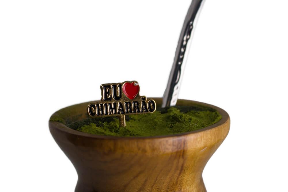 Enfeite de Chimarrão   Eu amo chimarrão