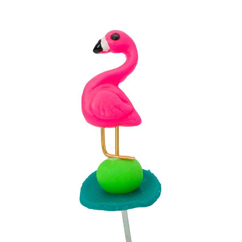 Enfeite de Chimarrão | Flamingo 3
