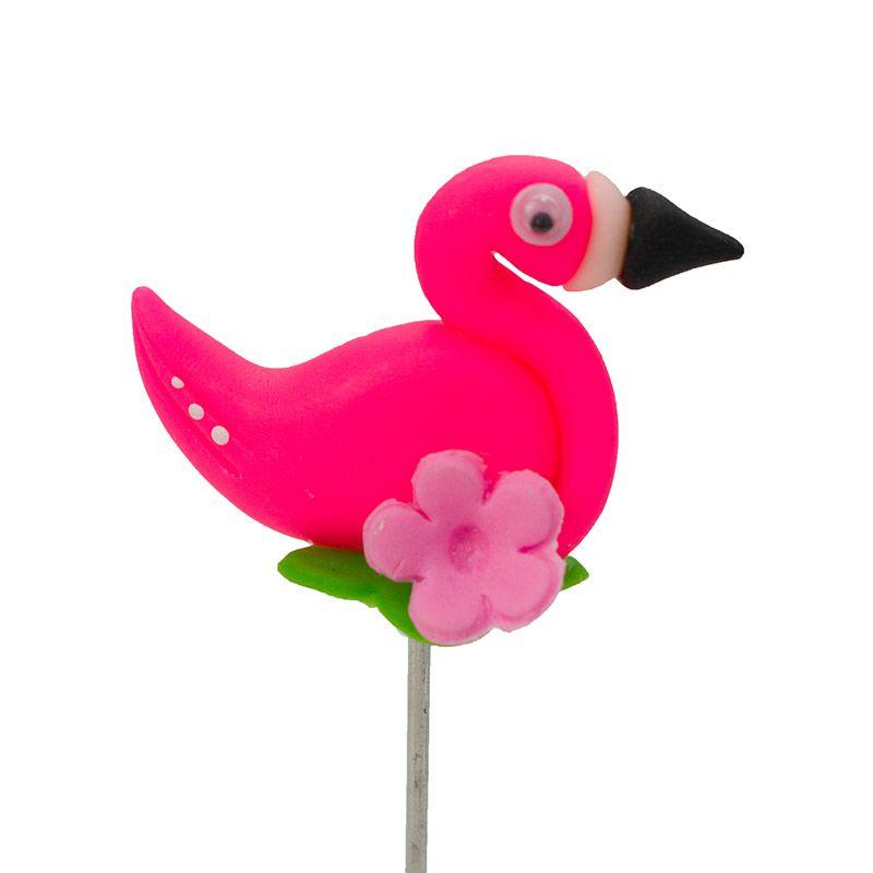 Enfeite de Chimarrão | Flamingo 1