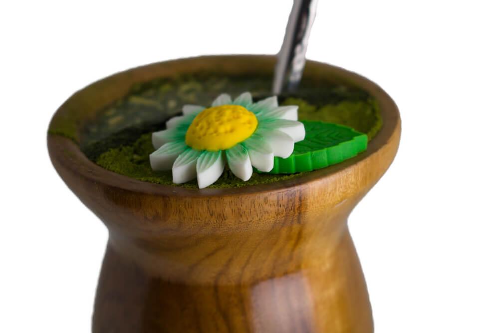 Enfeite de Chimarrão   Flor