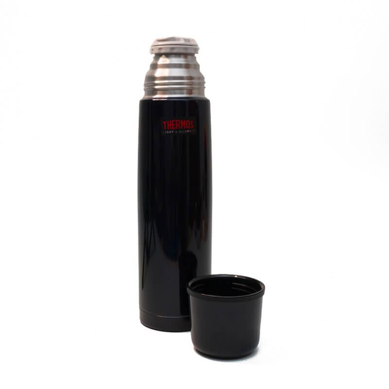 Garrafa Térmica em Inox 1 litro - Thermos - Cairo Azul