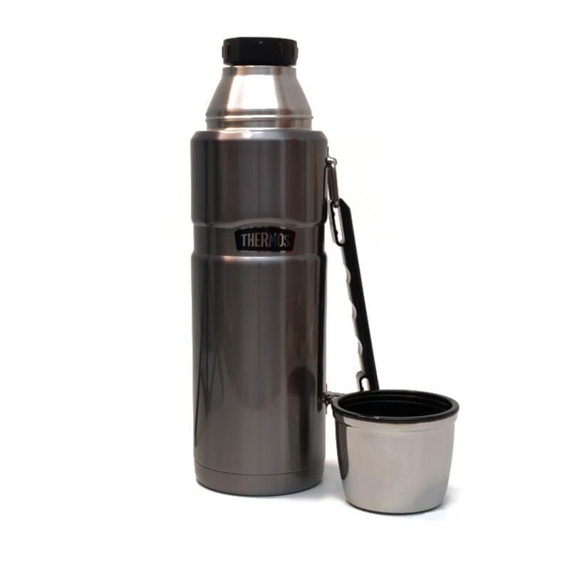 Garrafa Térmica Inox - 1,2 litros - Thermos - Pampas