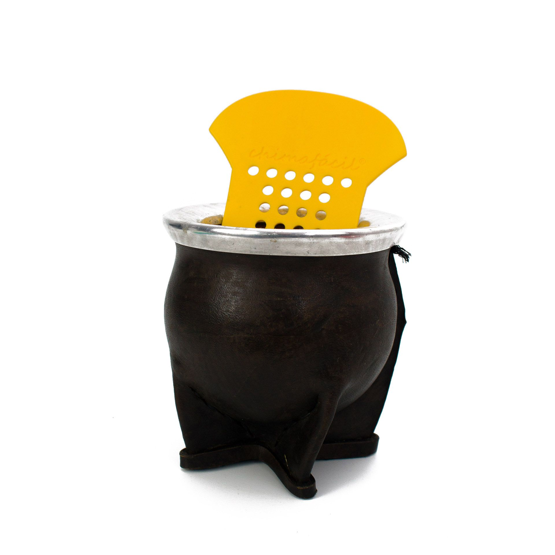 Kit Cevador de Chimarrão Chimafácil - Amarelo