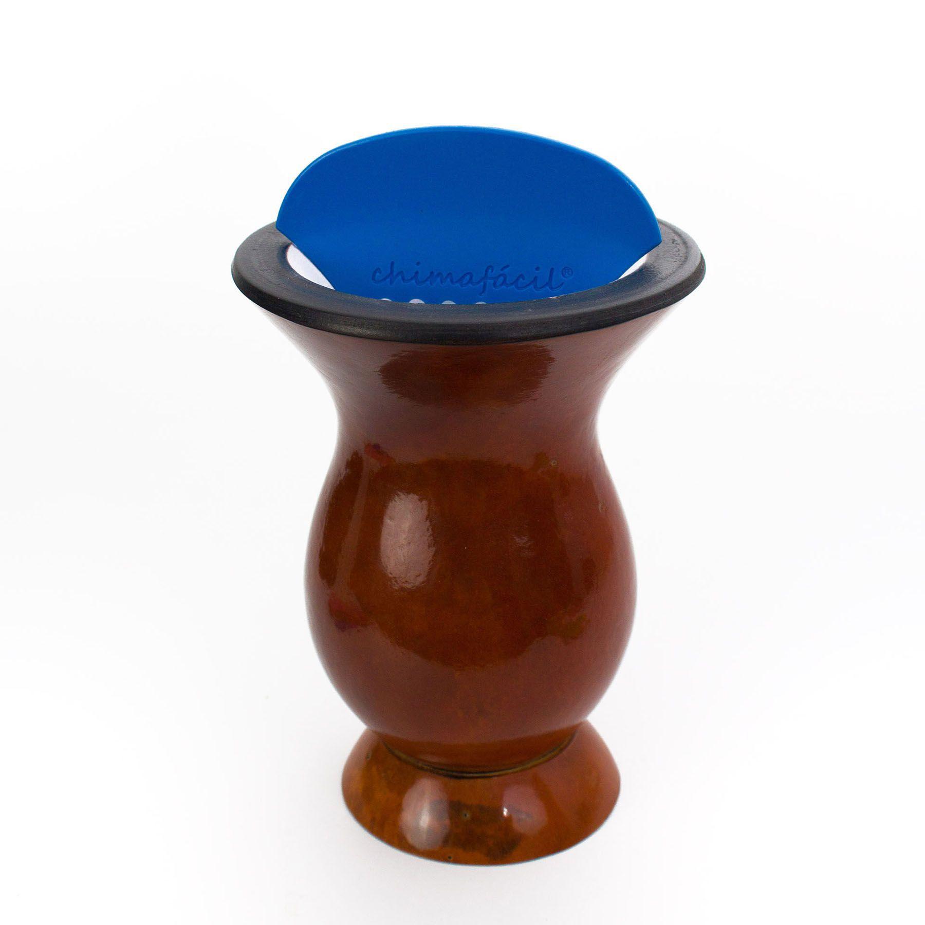 Kit Cevador de Chimarrão Chimafácil - Azul