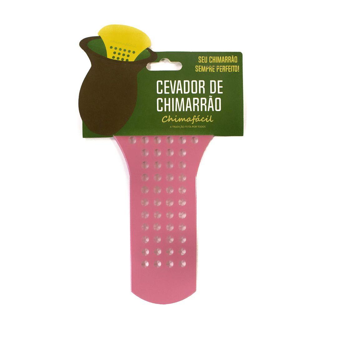 Kit Cevador de Chimarrão Chimafácil - Rosa